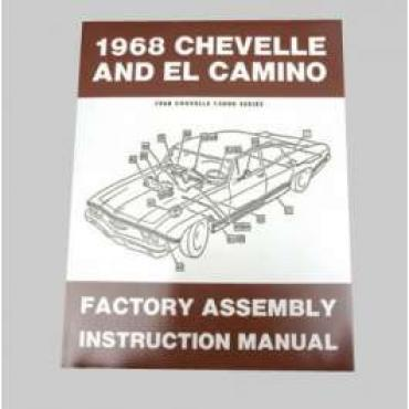 Chevelle Assembly Manual, 1968