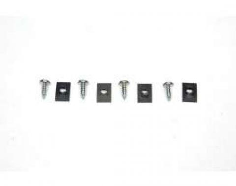 Chevelle License Plate Light Mounting Screws, 1964-1965