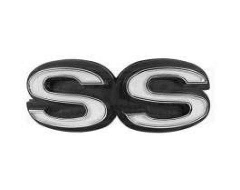 Chevelle Grille Emblem, Super Sport (SS), 1972