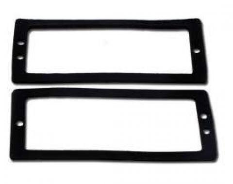 Chevelle Side Marker Light Gaskets, Rear, 1970-1972