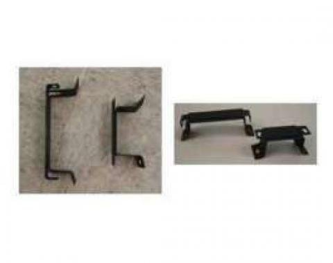 Chevelle Console Mounting Brackets, For Cars With Automatic Transmission, 1964-1965