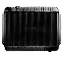 Chevelle Radiator, Big Block, 2-Row, For Cars With Automatic Transmission & Without Air Conditioning, U.S. Radiator, 1966-1967