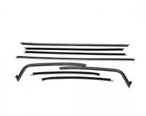 PUI Standard Windowfelt Weather Strip Kit 1964-81 Chevelle 2-Door Hardtop F206-1