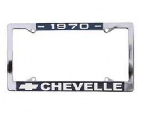 Chevelle License Plate Frames, 1970