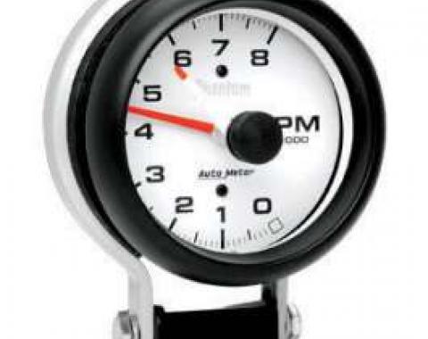 Chevelle Tachometer, Pedestal Mount, 8,000 RPM, Phantom Series, AutoMeter, 1964-1972