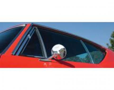 Chevelle Window Felt Kit, 2-Door Coupe, 1968
