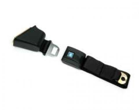 Chevelle Seat Belt, Lap, With Retractor, For Cars With Standard Bucket Seat, Left, 1968-1972