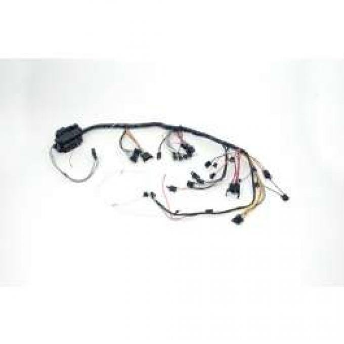 Chevelle Dash Wiring Harness, Main, For Cars With Factory Gauges & Air Conditioning, 1966