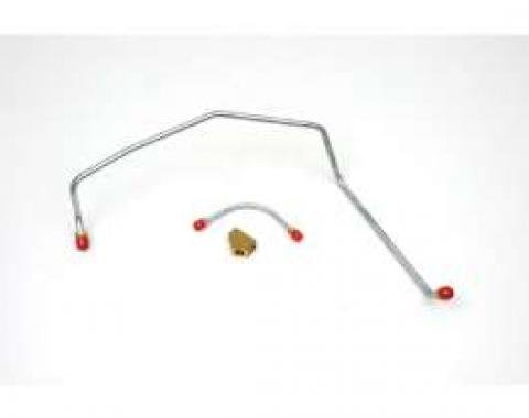 Chevelle Gas Lines, 3 Piece. With Y Block 396 375hp, 1969