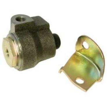Chevelle Brake Proportioning Valve, Original Style, With Mounting Bracket, 1967-1968