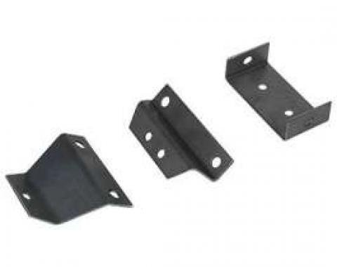 Chevelle Console Mounting Brackets, For Cars With 4-Speed Transmission, 1966-1967