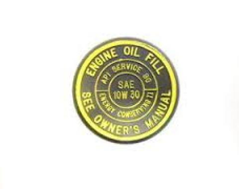 Oil Filler Cap, AC Delco, FC140, 1982-1992