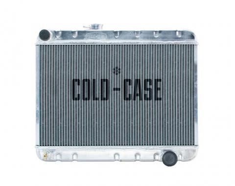 Cold Case Radiators 66-67 GTO Aluminum Radiator W/AC AT GPG38A