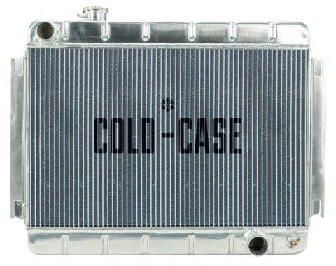 Cold Case Radiators 66-67 Chevelle / El Camino Aluminum Radiator MT CHE542