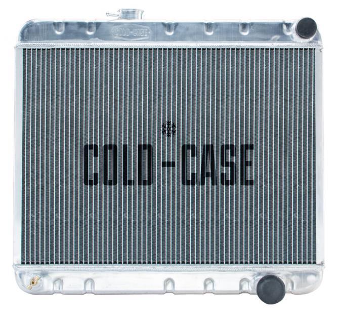 Cold Case Radiators GTO Radiator 65 Pontiac GTO Non A/C Manual/Auto Transmission Aluminum GPG18