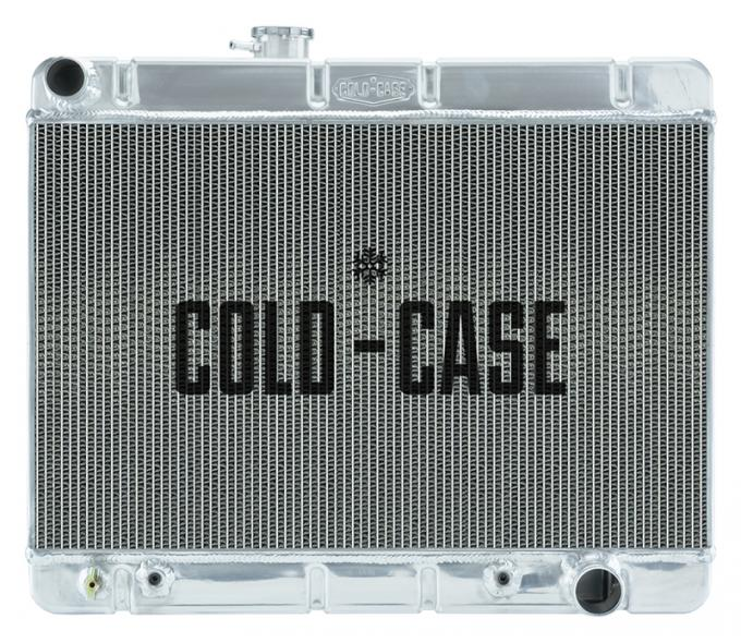 Cold Case Radiators 64-67 GTO w/o AC SD AT Aluminum Performance Radiator GPG34AS