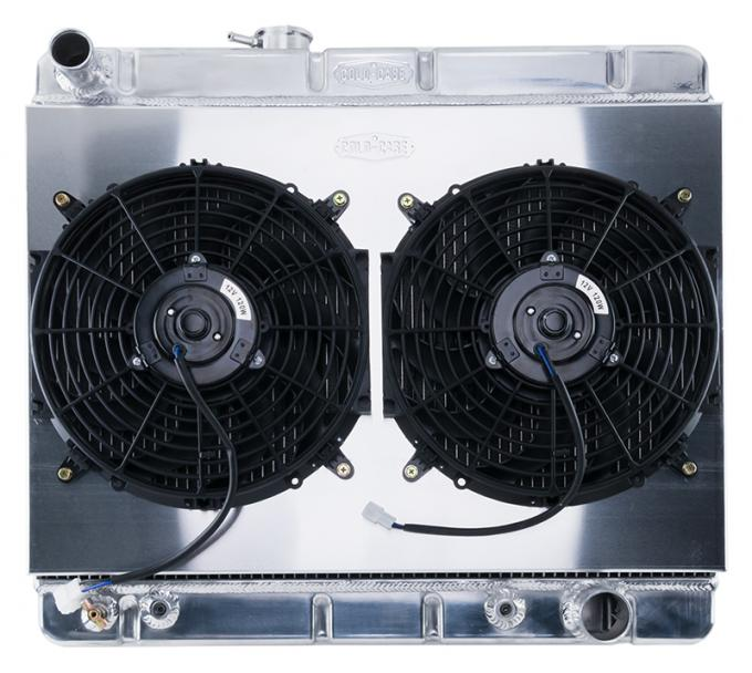 Cold Case Radiators 64-67 GTO W/O AC HO/SD 1.25 Inch Radiator KIT Automatic Transmission GPG34ASK