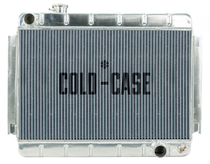 Cold Case Radiators 66-67 Chevelle / El Camino Aluminum Radiator MT CHE542