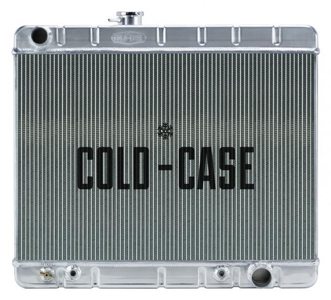 Cold Case Radiators 66-67 GTO Aluminum Radiator W/O AC AT GPG34A