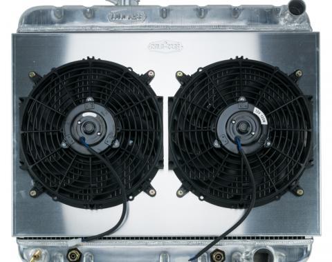 Cold Case Radiators 65 GTO Non A/C AT Aluminum Performance Radiator Dual Fan Kit GPG20K