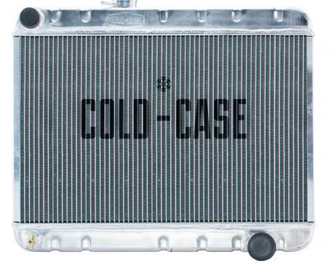 Cold Case Radiators 66-67 GTO Aluminum Radiator W/O AC MT GPG34