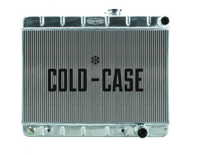 Cold Case Radiators 65 GTO Tri-Power Aluminum Radiator W/O AC AT GPG19A