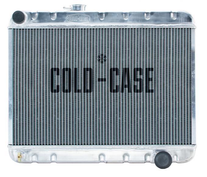 Cold Case Radiators 66-67 GTO Aluminum Radiator W/AC MT GPG38