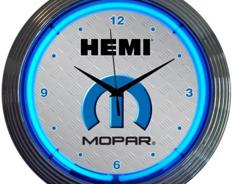 Neonetics Neon Clocks, Mopar Hemi Neon Clock