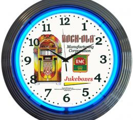 Neonetics Neon Clocks, Rock-Ola Jukebox Neon Clock