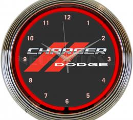 Neonetics Neon Clocks, Dodge Charger Neon Clock