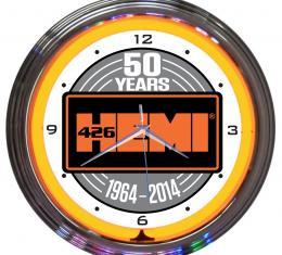 Neonetics Neon Clocks, Hemi 50th Anniversary Neon Clock