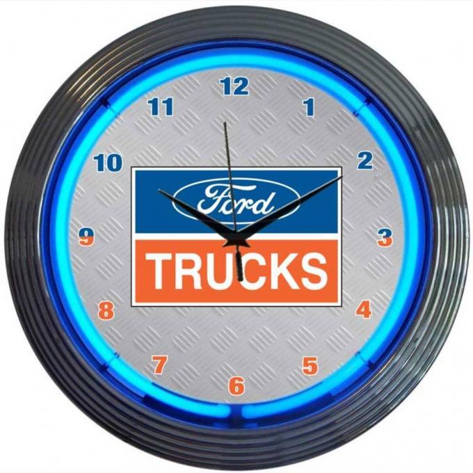 Neonetics Neon Clocks, Ford Trucks Neon Clock
