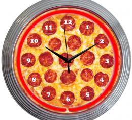 Neonetics Neon Clocks, Pizza Neon Clock
