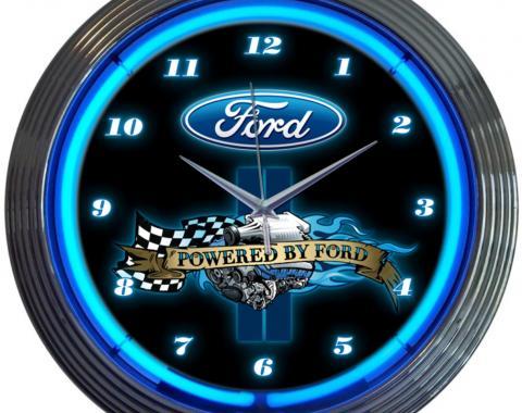Neonetics Neon Clocks, Powered by Ford Neon Clock