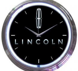 Neonetics Neon Clocks, Ford Lincoln Neon Clock