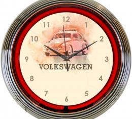 Neonetics Neon Clocks, Volkswagen Beetle Neon Clock