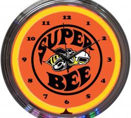 Neonetics Neon Clocks, Super Bee Neon Clock