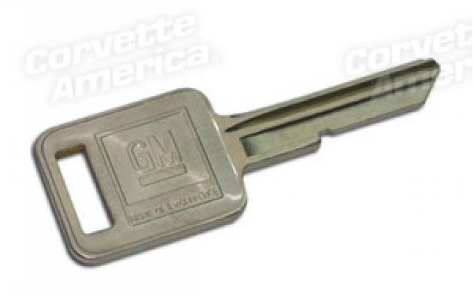 Corvette Key Blank, Square J (70,74,78,82),