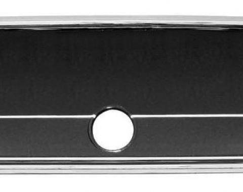 RestoParts Glove Box Fascia, 1966 Malibu/El Camino, Chrome KM01204