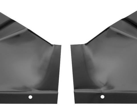 RestoParts Braces, Package Tray Supports, 1964-67 A-Body C240846