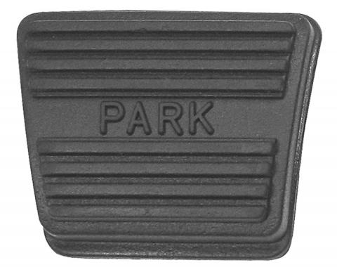 "RestoParts Pad, Pedal, 1964-72 GM ""A"" Body, 1976-77 Bonneville/Catalina, Parking Brake PZ00015"