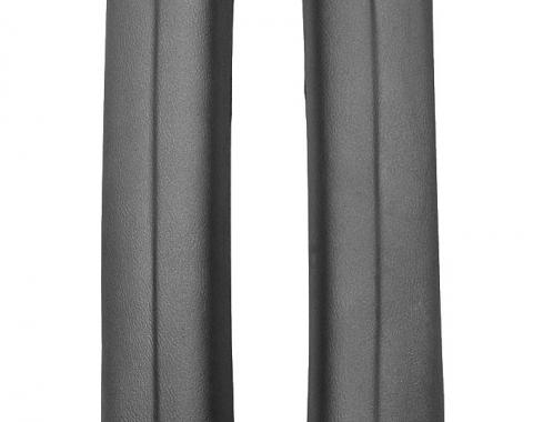 RestoParts Pillar Pads, Interior Molded 1968-69 A-Body Coupe, Black PXM1501BK