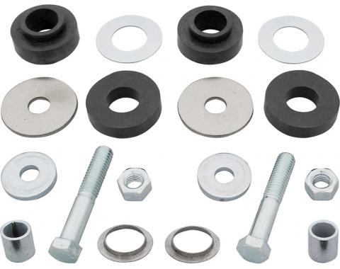 RestoParts Bushing Kit, Radiator Support, 1965-67 GM A Body, w/Hardware RB0521