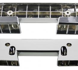 RestoParts Armrest Base, Front, 1960-67 GM, Chrome DP00029
