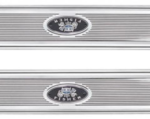 """RestoParts Step Plates, 1968-72 GM """"A"""" Body, Ribbed Style K33623"""