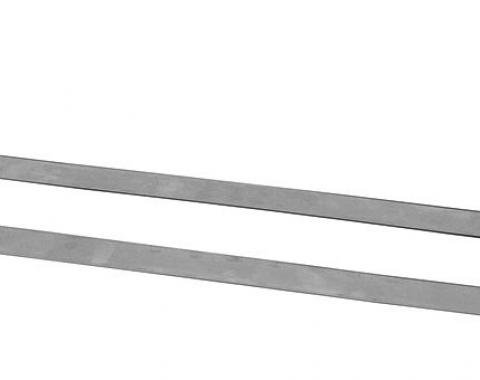 RestoParts Mounting Straps, Fuel Tank, 1968-72 A-Body & 1969-70 Grand Prix, Pair PZ00723