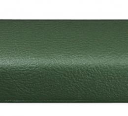 "RestoParts Pad, Arm Rest (front, Interior) 1968-72 ""A"" Body, Catalina, LH, Dark Green ARP0008DG"
