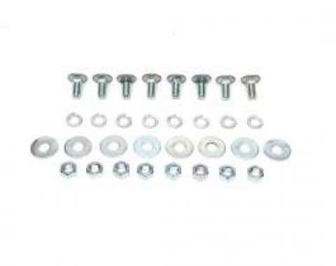 El Camino Bumper Bolt Kits Bumper Bolt Kit Front Or Rear 32 Pieces, 1966