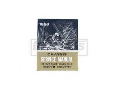 El Camino Service Shop Manual, 1966