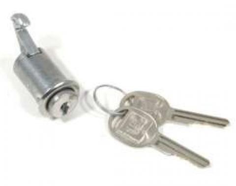 El Camino Glove Box Lock, Later, 1964-1965